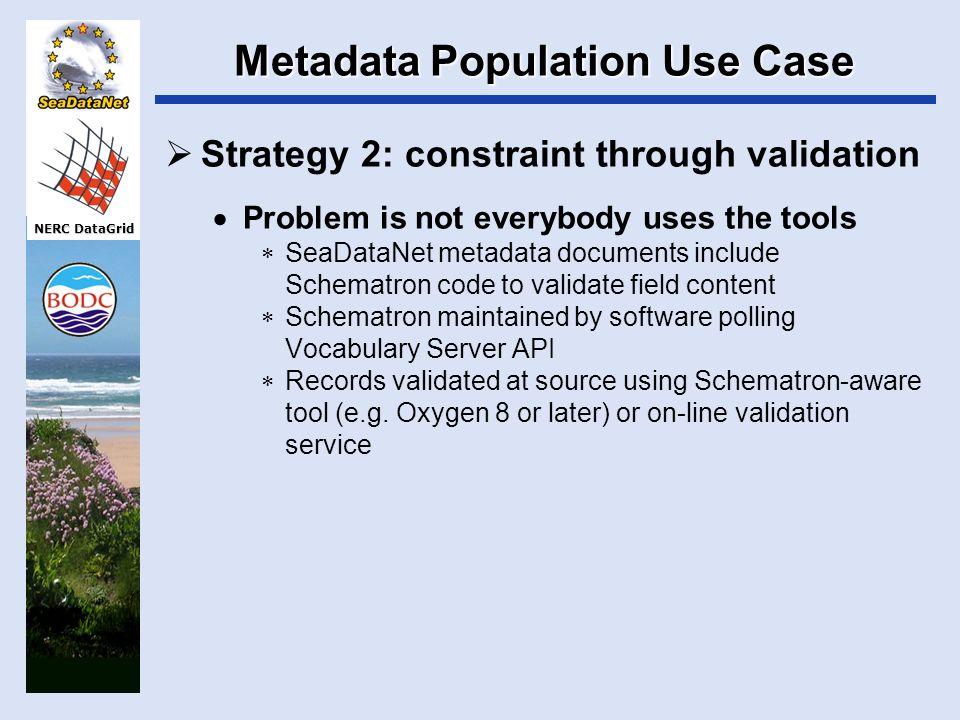 NERC DataGrid NERC DataGrid Vocabulary Server Use Cases