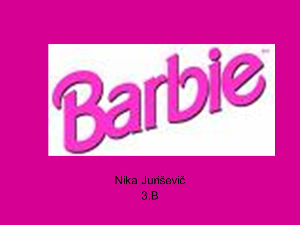 history of barbie speech outline