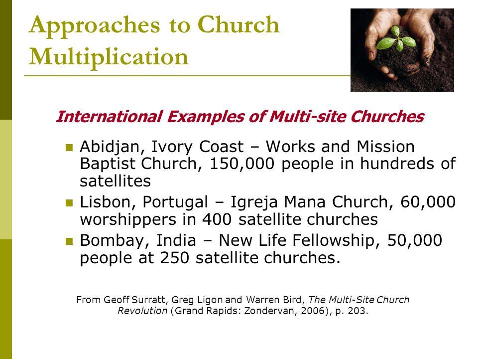 Church Planting Models Cross Cultural Church Planting School Craig
