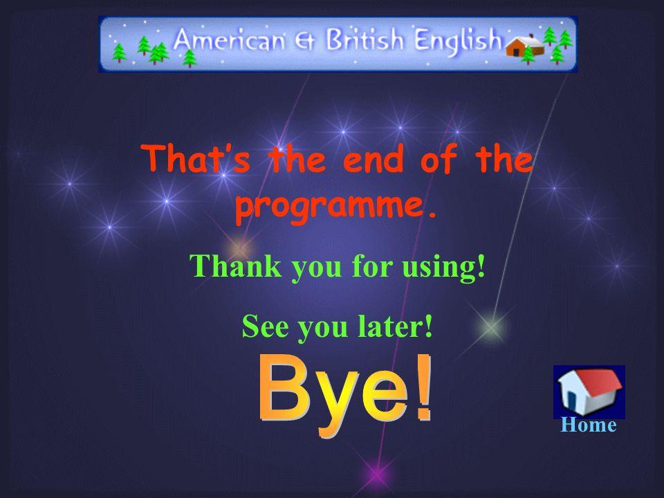 Introducing American and British English Subject : English