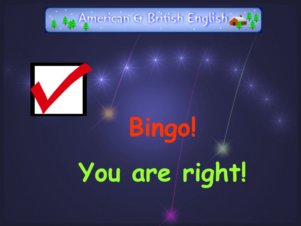 Introducing American and British English Subject : English
