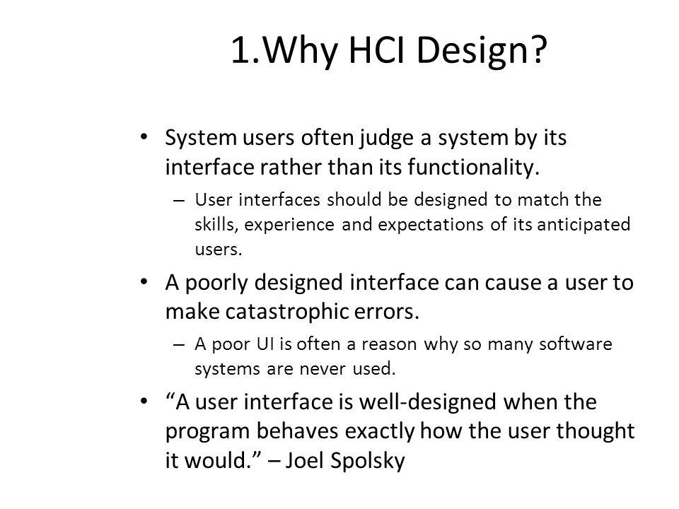 Human Computer Interface Design Pedro Mejia Alvarez Cinvestav Ipn Based On The Course On Software Engineering Of Er Yu Ding Software Institute Nju Ppt Download