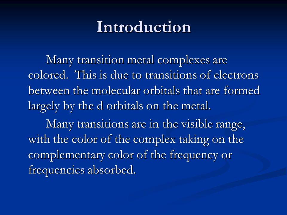 Transition metal complex.