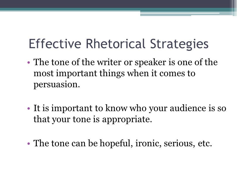 define rhetorical devices
