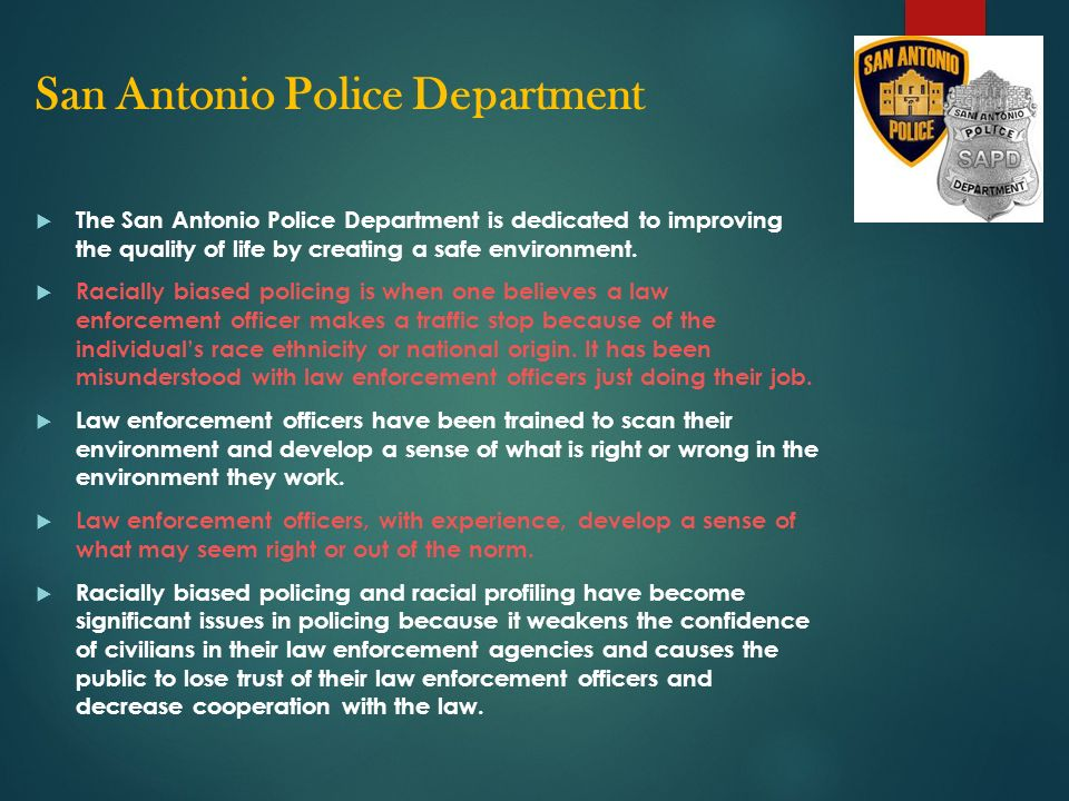 Life of a Police Officer HYO PICASSO UNIVERSITY OF TEXAS AT