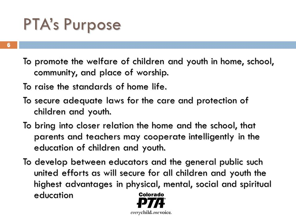 "1 11 WHY PTA? A voice for children The Lorax says… ""I speak for the"