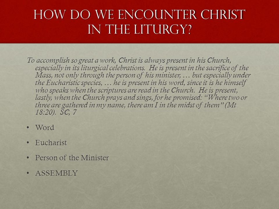 Image result for Picture of the words : Encountering Through Liturgy