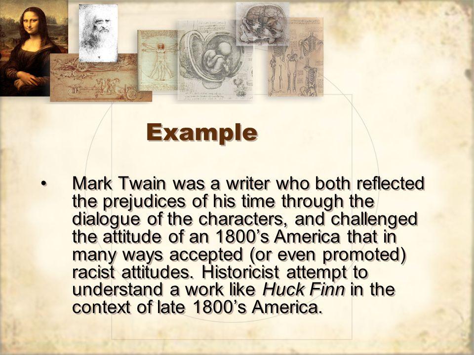 historicism example