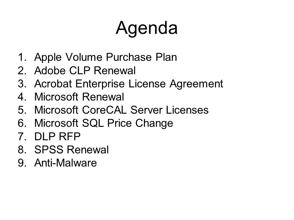 Site License Advisory Team Mar 30 2012 Meeting Ppt Download