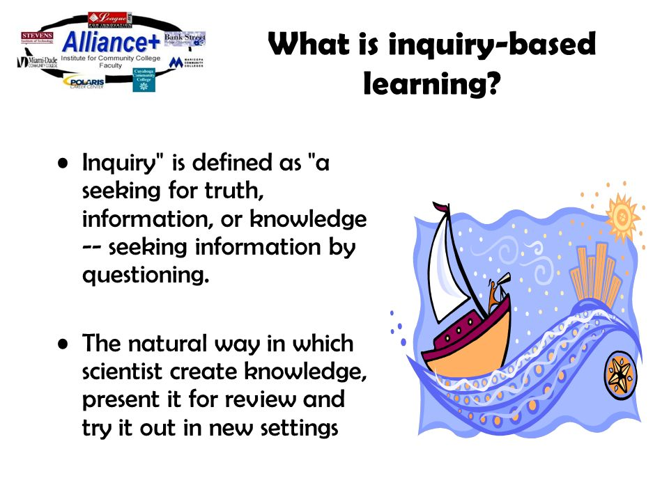 inquiry based science instruction using science fair Scientists and science education reform: myths, methods, and  high quality inquiry based hands on science  lecture-based instruction towards.
