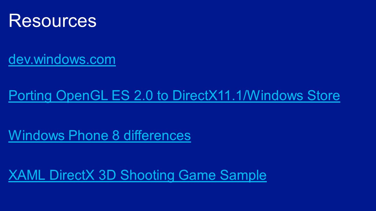 Choosing your language Windows Store games C++ and DirectX