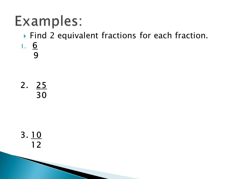 simplest form 10/12  Objective: Learn to write fractions in simplest form. - ppt ...