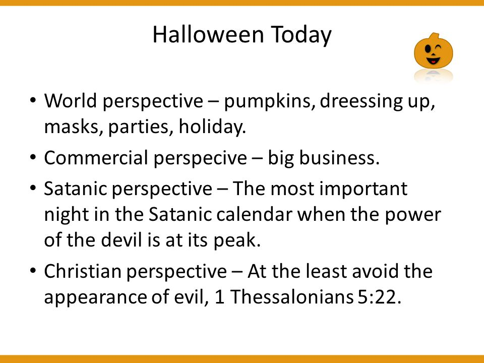 11 halloween today world perspective