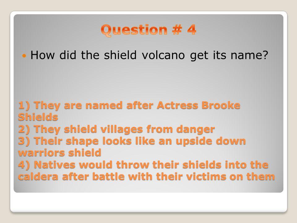Shield Volcano, Composite Volcano, and Cinder Cone Volcano