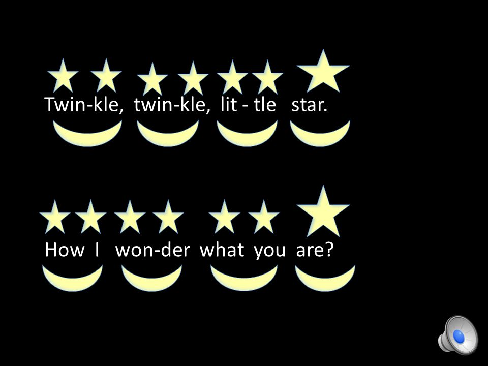 Stomp Your Feet Every Time You See The Moon Symbol Blink While