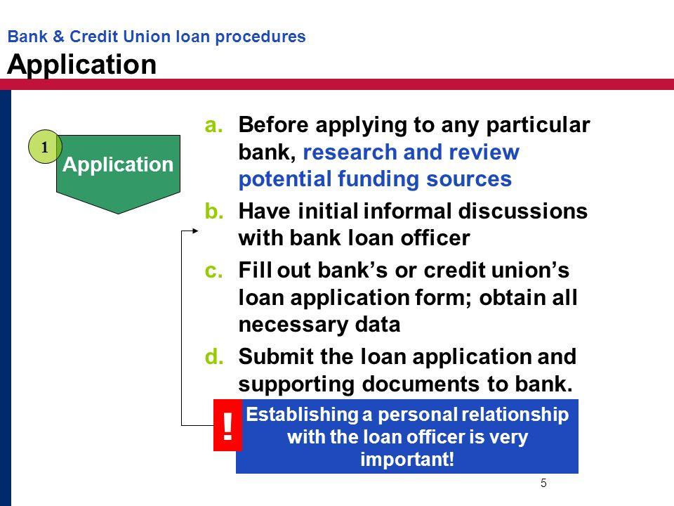part 4 loan application process dollars sense unit 4 consumer