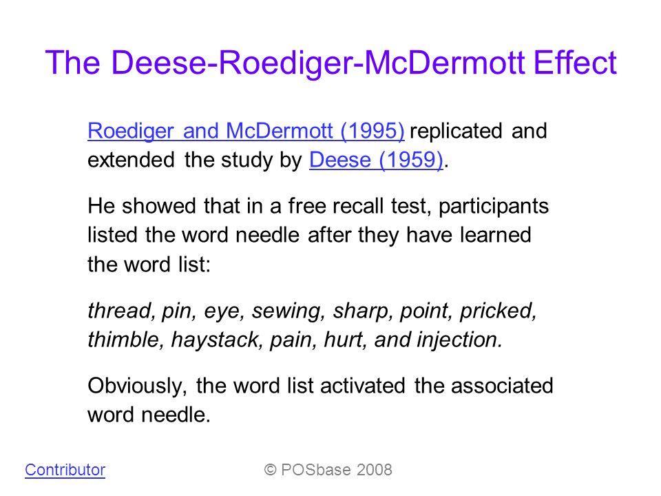 ROEDIGER MCDERMOTT 1995 EBOOK
