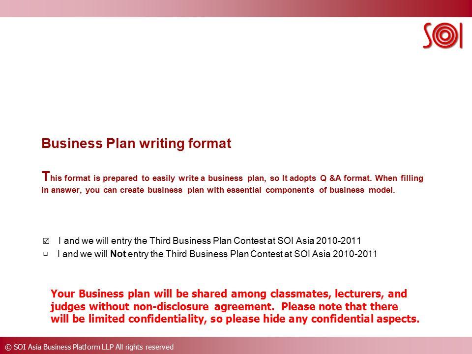 llp business plan