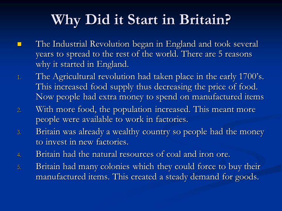 industrial revolution summary