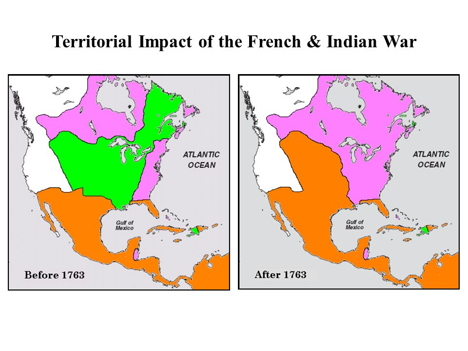 Territorial Impact of the French & Indian War