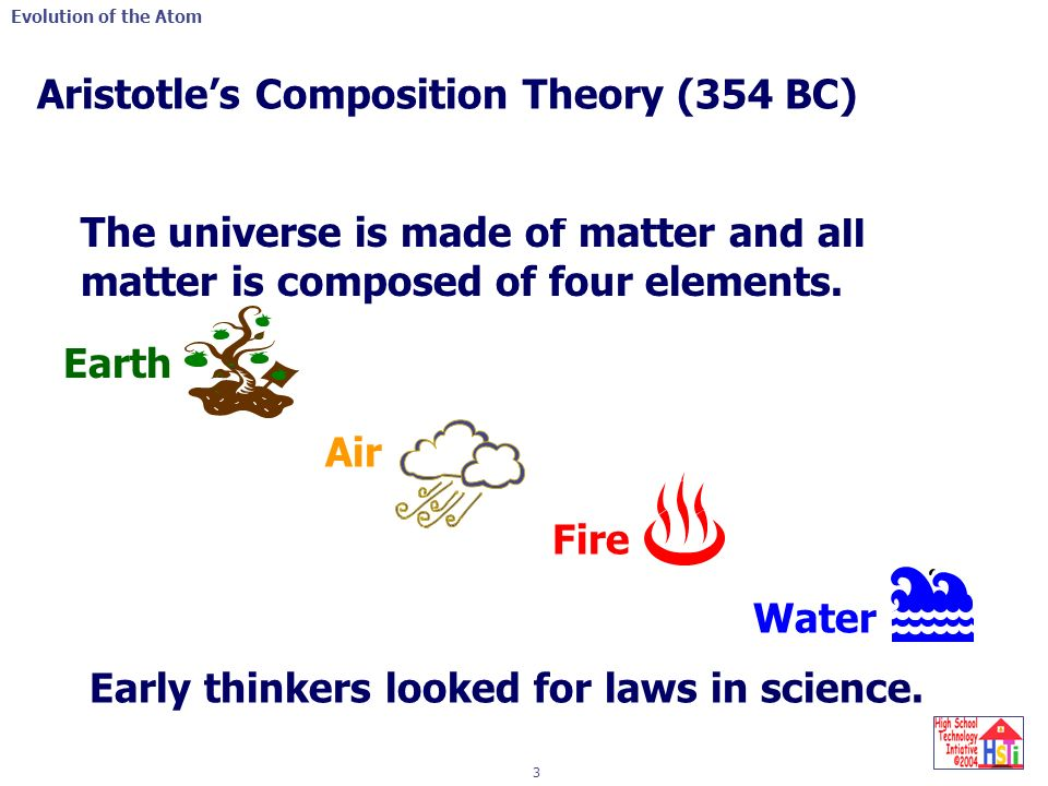 Evolution of Matter