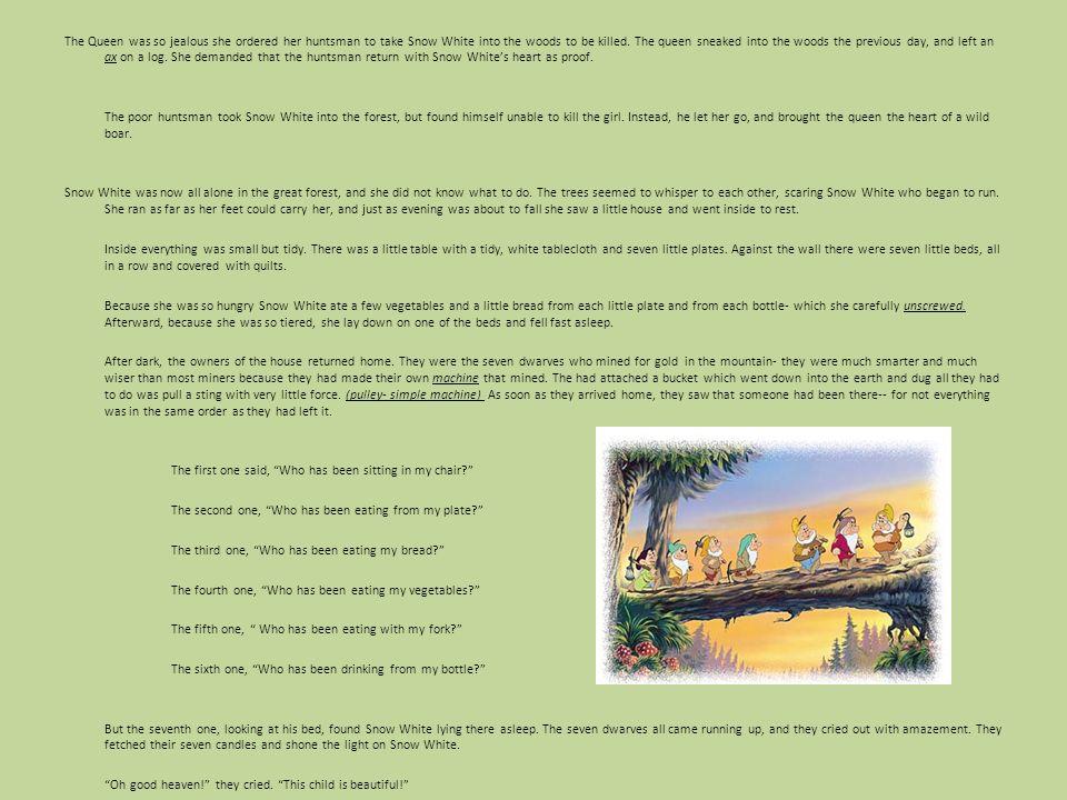 The Story of Snow White and the Seven Dwarves By: Veli Uzunova