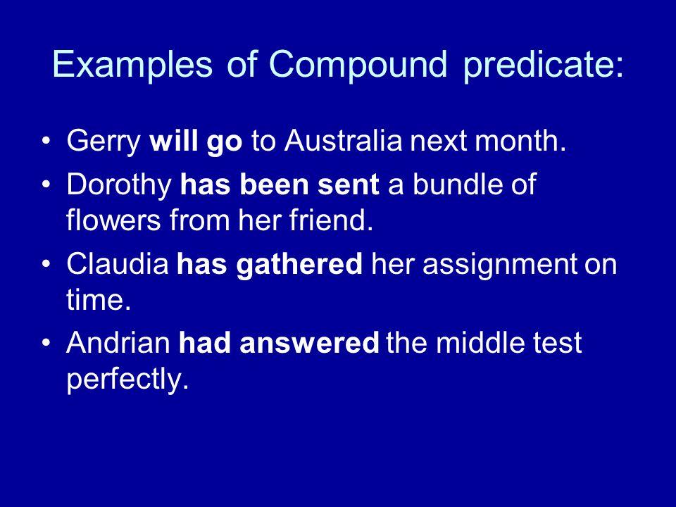 Write a compound predicate.
