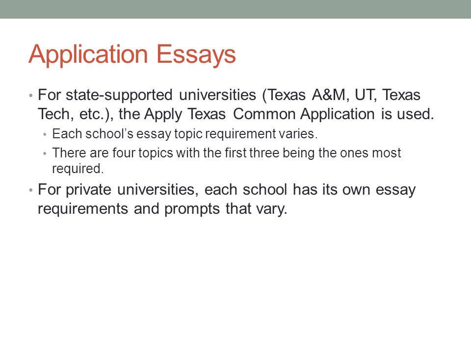 texas a&m application