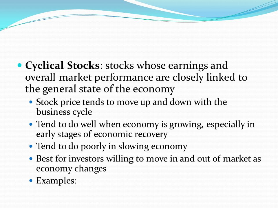 Investment In Equity Learning Goals What Is Equity Market What Is