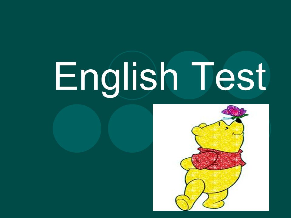 English Test  Complete the text with Present Simple or