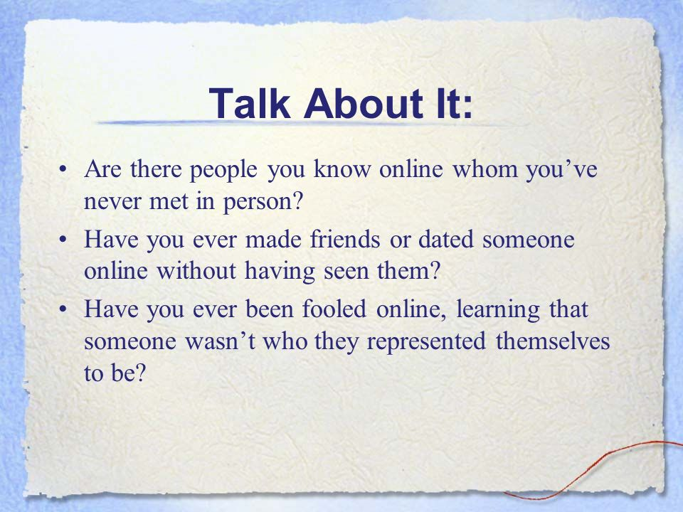 i need to talk to someone online