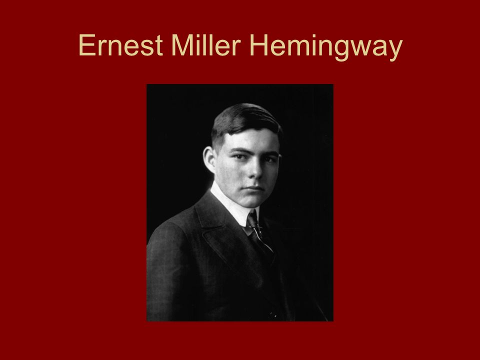 """an essay on symbolism and ernest miller hemingway Ernest hemingway's """"the snows of kilimanjaro"""" ernest hemingway's """"the snows of kilimanjaro"""": this 5-page essay discusses the significance and symbolism of the leopard and the hyena in this hemingway classic."""