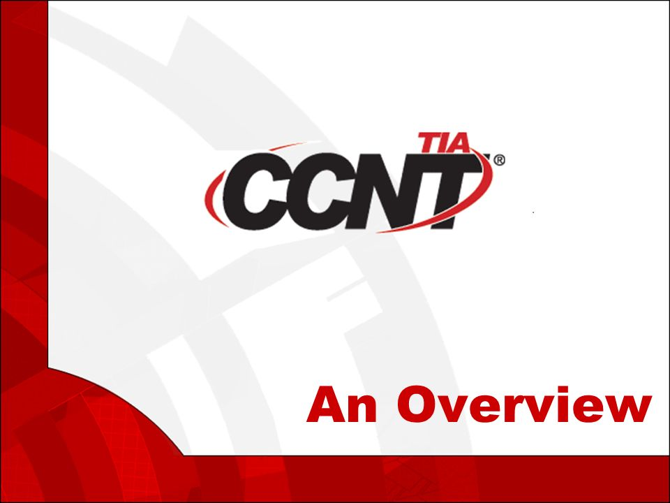 An Overview Agenda What Is Convergence What Is Ccnt