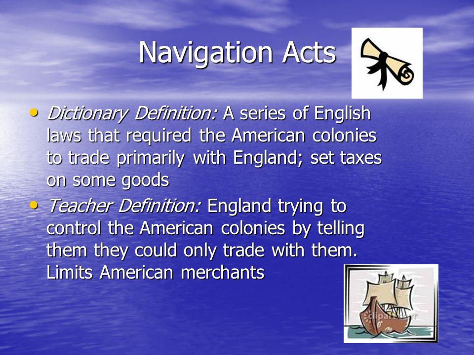 Colonies Vocabulary Miss Springborn Team 6 Colonial Unit