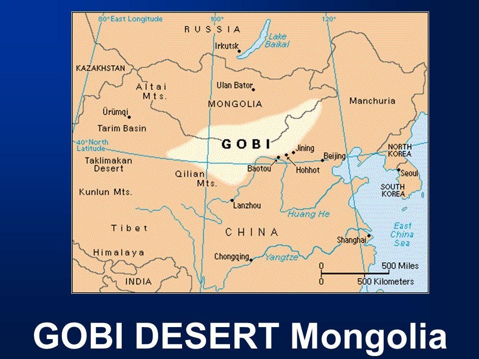Map Of Asia Gobi Desert.Geography 2 Deserts Mountains Rivers Gobi Desert Mongolia Ppt