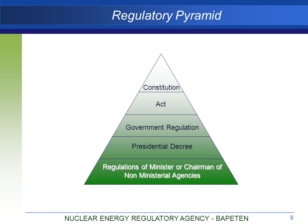 INDONESIA NUCLEAR REGULATORY PROFILE CONTENT FOR NNRP