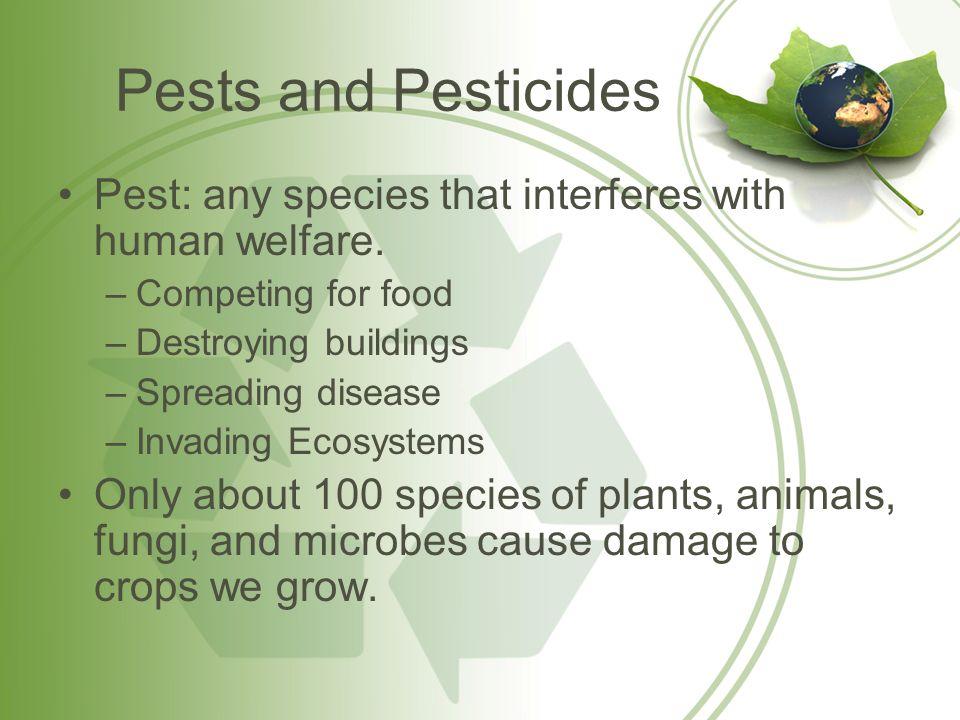 advantages of pesticides