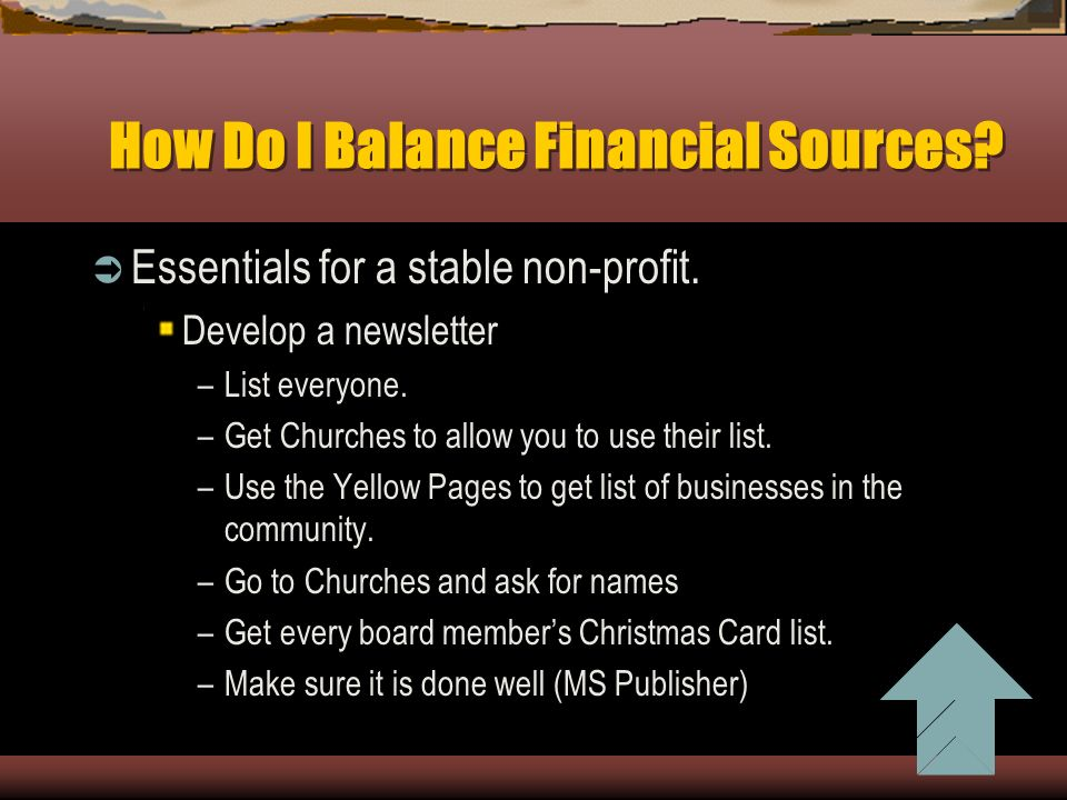 How Do I Balance Financial Sources Essentials For A Stable Non Profit