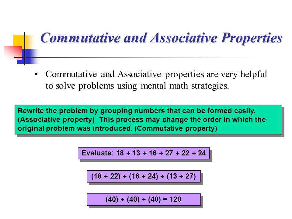 Evaluate: Rewrite the problem by grouping numbers that can be formed easily.