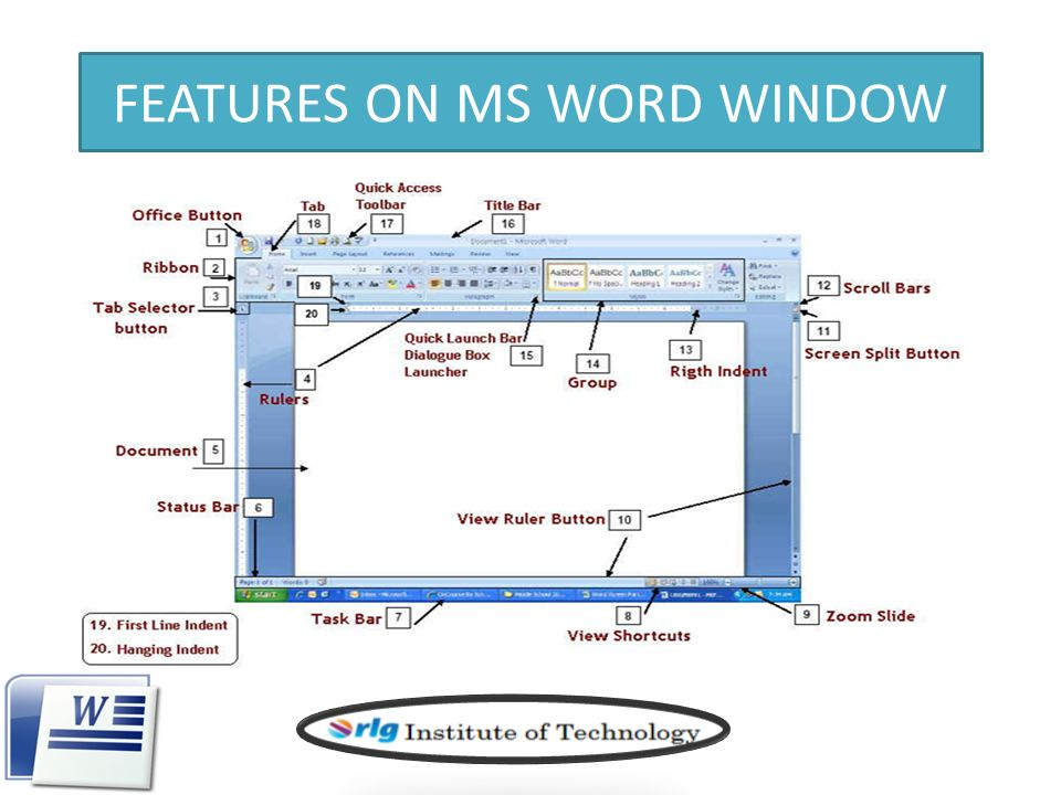 Introduction To Microsoft Word 2007 By Abdul Rahaman Ppt Download