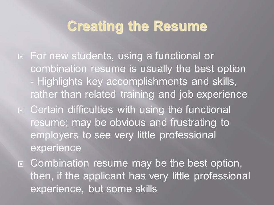 Finding a Career What you can do with that shiny new degree! - ppt ...