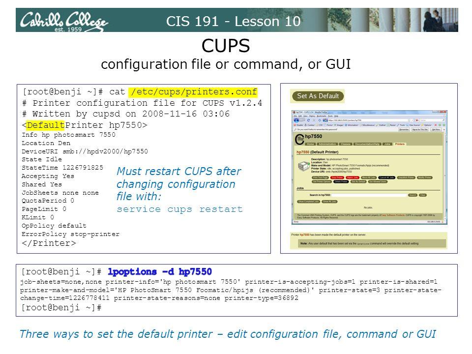CIS Lesson 10 Printers  CIS Lesson ppt download