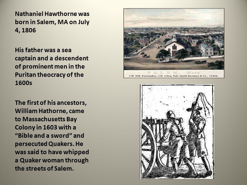 nathaniel hawthorne puritan