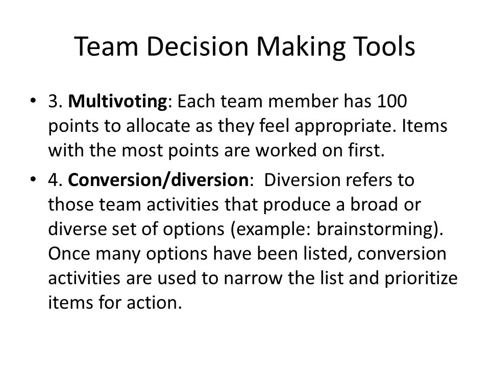 decision making technique brainstorming Explanation: c) nominal group technique is a group decision-making method in which individual members meet face to face to pool their judgments in a systematic but independent fashion it does not restrict independent thinking.