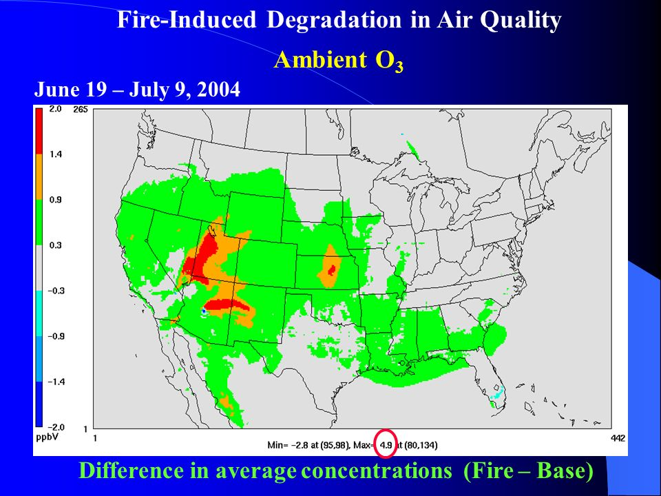 Impacts of Biomass Burning Emissions on Air Quality and