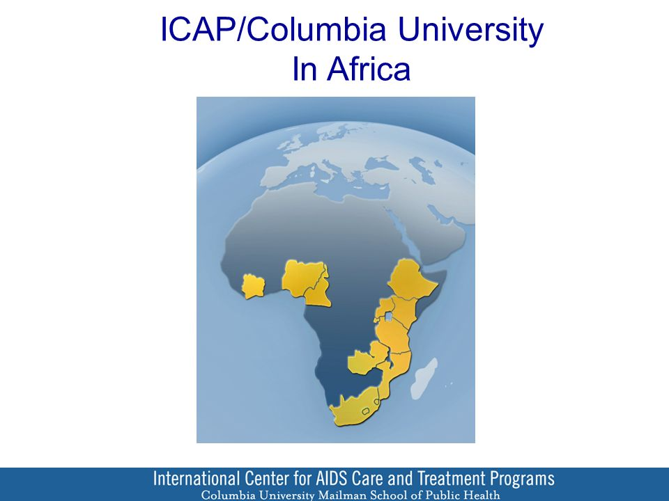 ICAP/Columbia University In Africa