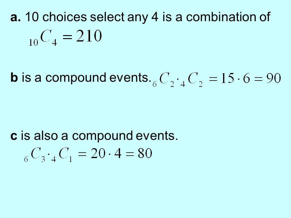 Aim How Do We Use Permutation And Combination To Evaluate