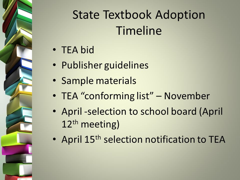 Textbook Adoption Committee Meeting Fall Ppt Download