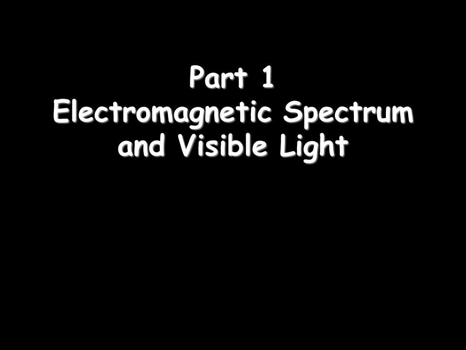 Light In this unit: 1)Electromagnetic Spectrum 2)Properties of Light 3)Reflection 4)Colors 5)Refraction