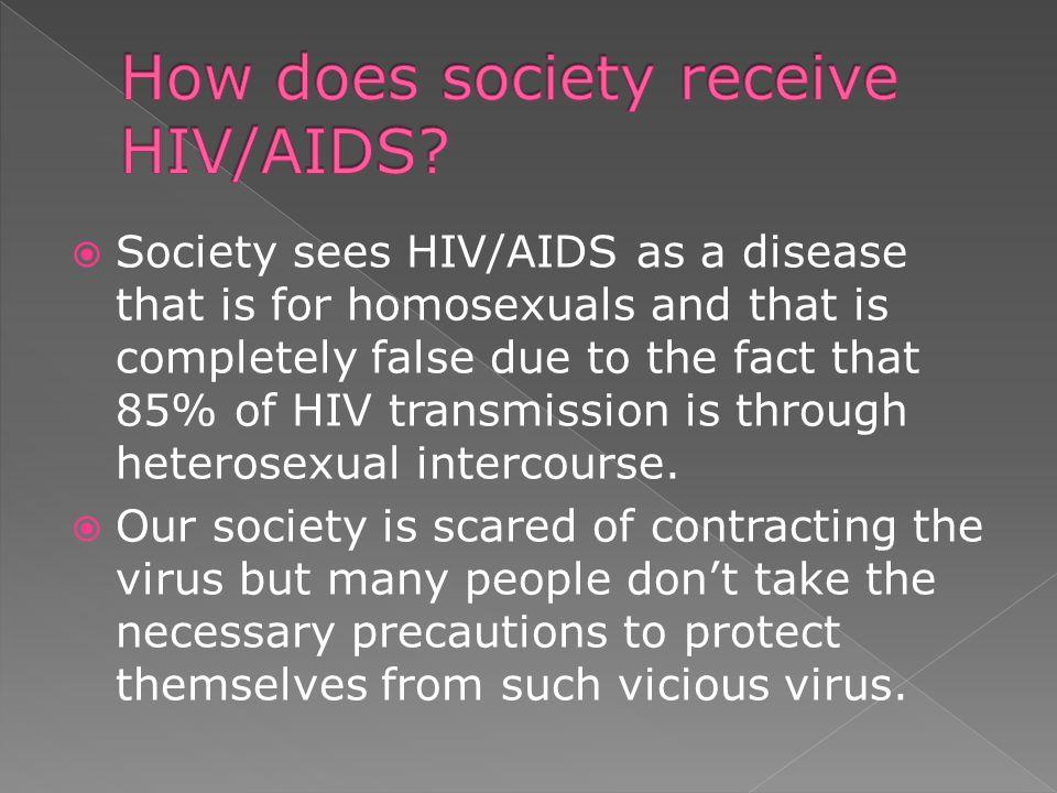 Precautions for hiv transmission heterosexual